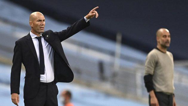 Trenér Realu Madrid Zinédine Zidane