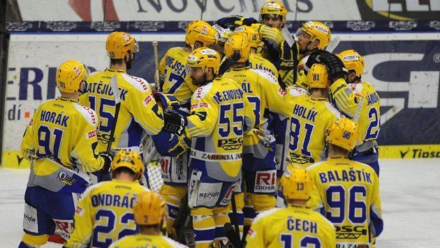 Hokejisté Zlína můžou už dnes slavit titul.