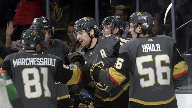 Hokejisté Vegas Golden Knights (ilustrační foto).