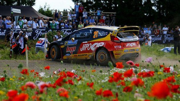 Martin Prokop s Fordem Fiesta WRC