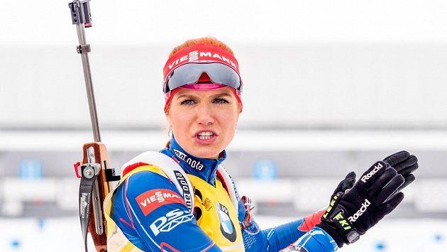 Biatlonistka Gabriela Soukalová vyhlíží poslední naději na medaili z MS v Oslu.