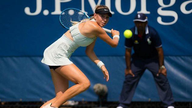 Američanka Amanda Anisimovová si poprvé zahraje semifinále na okruhu WTA