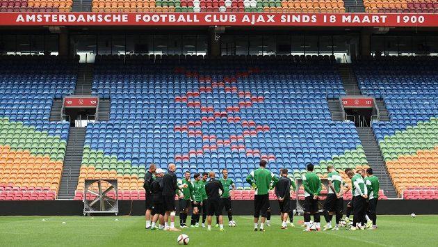 Jablonečtí fotbalisté se chystají na slavný Ajax.