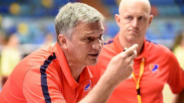 Trenér Ivan Beneš.