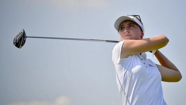 Česká golfistka Patricie Macková.