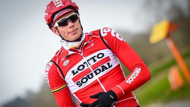 Belgický cyklista Stig Broeckx.