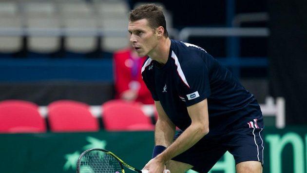 Český tenista František Čermák.