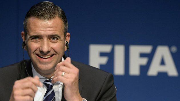Odvolaný sekretář FIFA Markus Kattner.