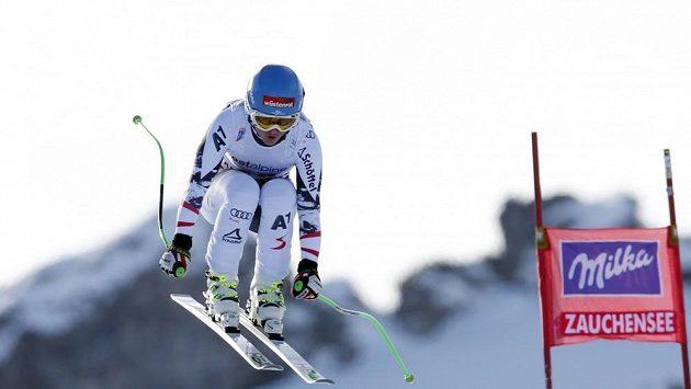 Rakouská lyžařka Elisabeth Görglová.