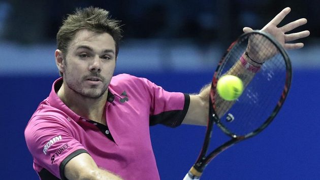 Švýcarský tenista Stan Wawrinka.