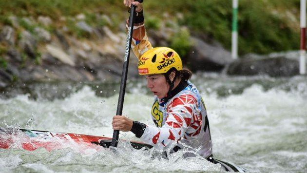 Tereza Fišerová ovládla Světový pohár ve vodním slalomu.