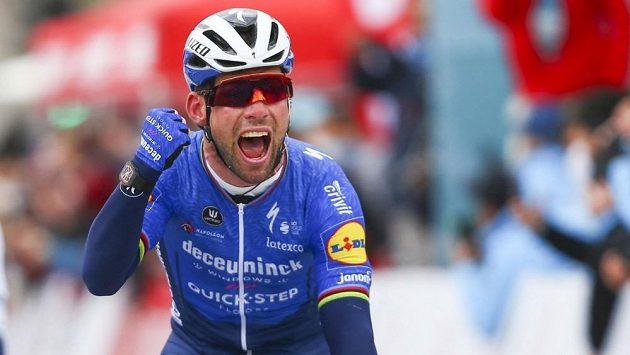Po více než třech letech se britská cyklistická hvězda Mark Cavendish dočkal vítězství.