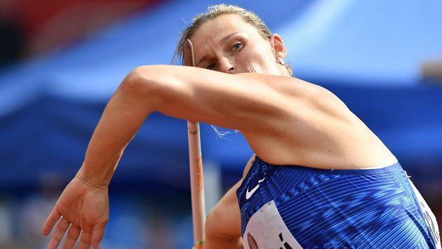 V duelu českých oštěpařek na Zlaté tretře byla lepší Barbora Špotáková, která hodila 60,01 a skončila čtvrtá.