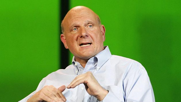Šéf Los Angeles Clippers Steve Ballmer