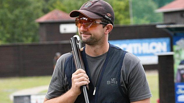 Současná světová jednička v brokové disciplíně skeet Tomáš Nýdrle.