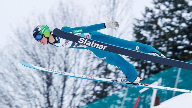 Lety na lyžích ve Vikersundu vyhrál Slovinec Domen Prevc