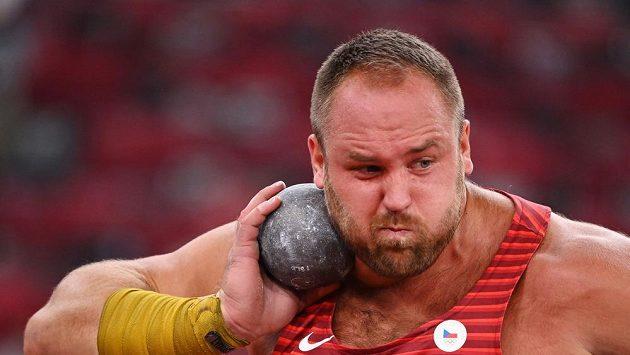 Koulař Tomáš Staněk v olympijské kvalifikaci.