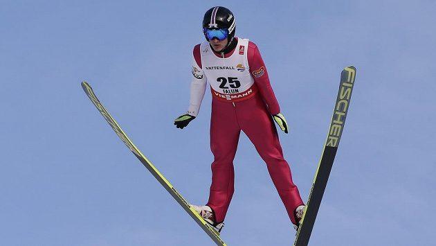 Tomáš Portyk během závodu ve švédském Falunu