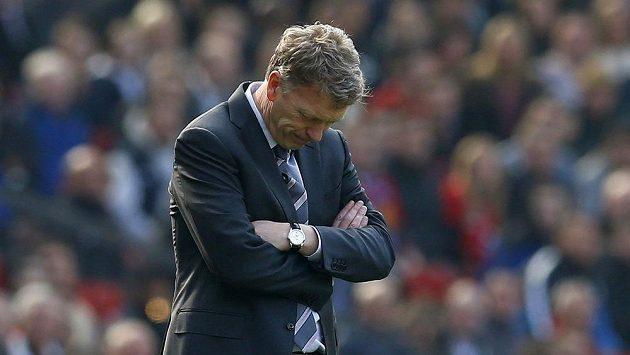 Kouč David Moyes to má v Manchesteru United hodně nahnuté.