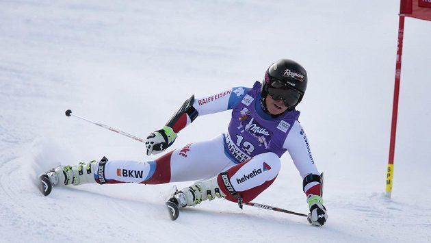Švýcarská lyžařka Lara Gutová (na snímku) vyhrála obří slalom Světového poháru v Aspenu.