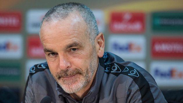 Už bývalý kouč Lazia Stefano Pioli.