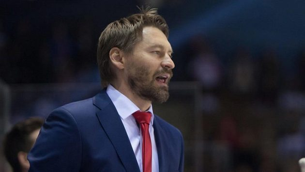 Hlavní kouč Litvínova Vladimír Országh.