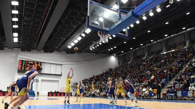 Hala Královka, kde hrají basketbalisty USK Praha