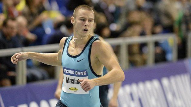 Český běžec Pavel Maslák