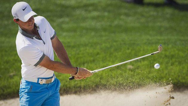 Rory McIlroy na turnaji v Dubaji.