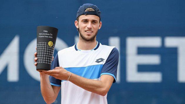 Michael Vrbenský patří k velkým tenisovým nadějím