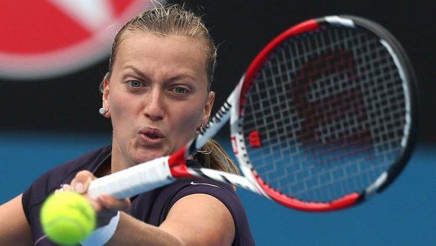 Petra Kvitová v souboji s Lucií Šafářovou.
