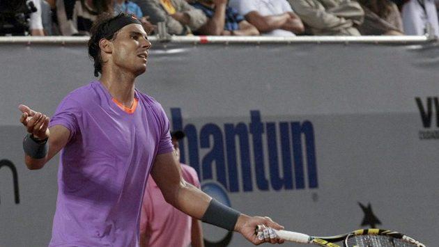 Rafael Nadal na Horacia Zeballose ve finále nestačil.