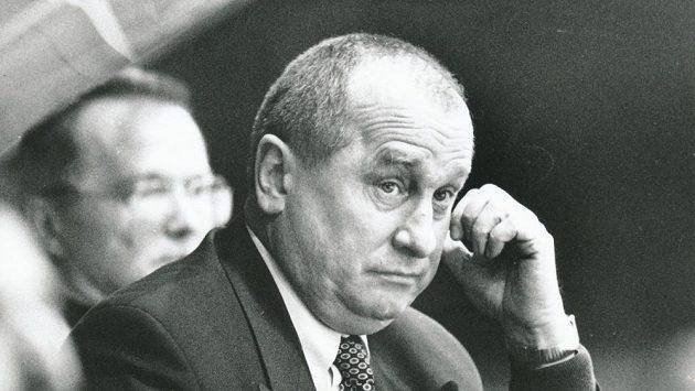 Josef Augusta, bývalý český lední hokejista a později trenér