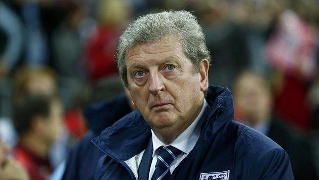Trenér anglické fotbalové reprezentace Roy Hodgson.
