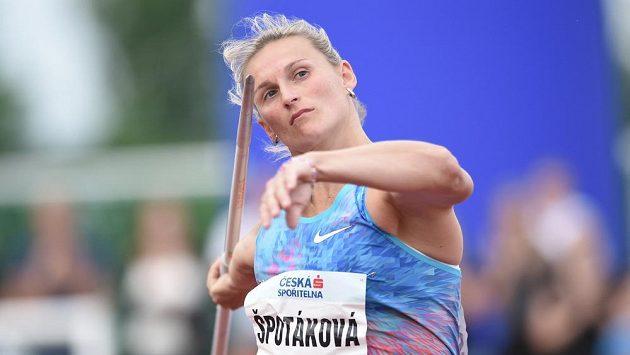 Barbora Špotáková se představí na ostravské Zlaté tretře.