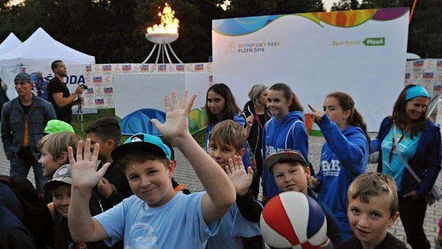 Olympijský park Plzeň navštívilo za první víkend přes 15 000 lidí.
