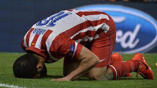 Zklamaný Arda Turan z Atlétika Madrid.