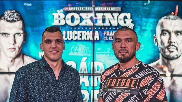 Český profesionální box čeká na konci roku velký svátek. V Lucerně proti sobě nastoupí Vasil Ducár a Václav Pejsar.