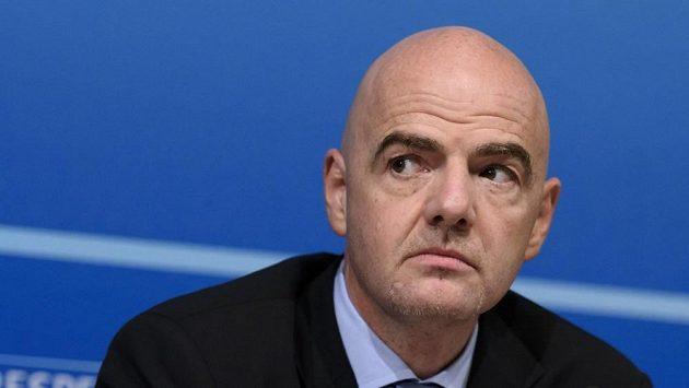 Generální sekretář Evropské fotbalové unie UEFA Gianni Infantino.