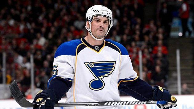 Americký hokejista Jamie Langenbrunner