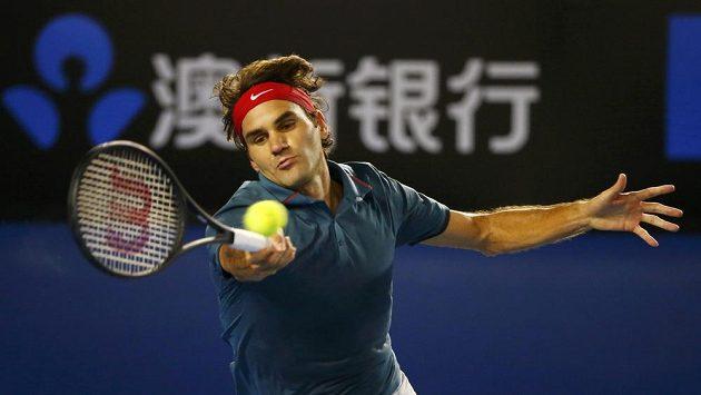 Roger Federer postoupil v Melbourne do semifinále už pojedenácté za sebou.