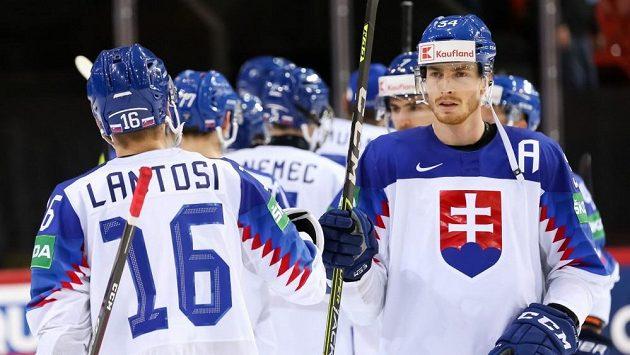 Slovenští hokejisté úskalí olympijské kvalifikace zvládli.