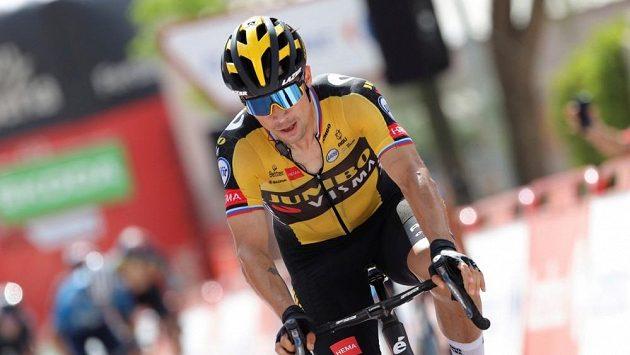 Roglič vyhrál nejkratší etapu Vuelty
