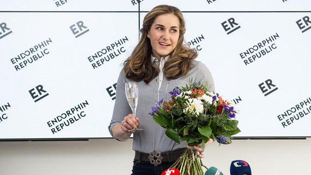 Bývalá mistryně světa a bronzová olympijská medailistka ve slalomu Šárka Strachová.