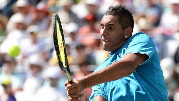 Australský tenista Nick Kyrgios na turnaji v Indian Wells.
