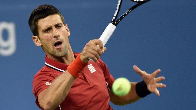 Novak Djokovič v prvním kole US Open.