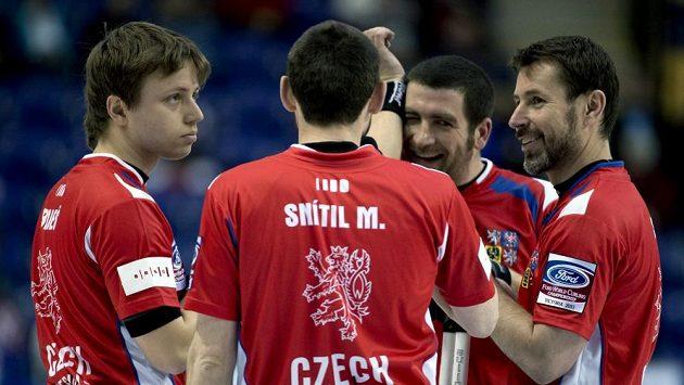 Čeští curleři prohráli s Dány až po tuhém boji.