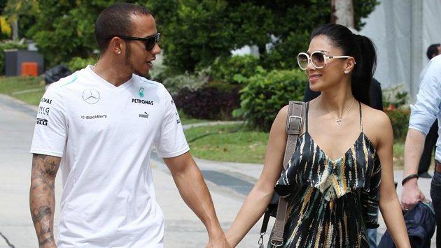 Nicole Scherzingerová a Lewis Hamilton spolu strávili pět let.