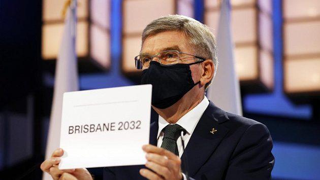 Šéf MOV Thomas Bach potvrzuje, že letní olympiádu v roce 2032 uspořádá Brisbane.