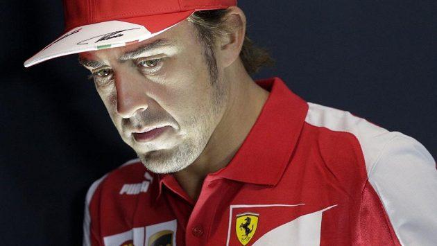 Pilot F1 Fernando Alonso.